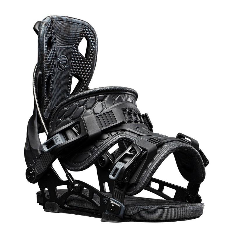 NDK Lunar 2019/20 boots, black color, 3/4 view