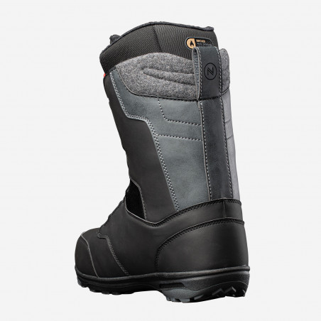 NDK Falcon boots, black color, above view