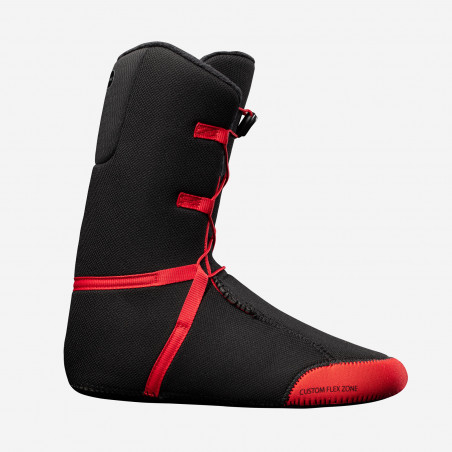 NDK Helios boots, black color, above view