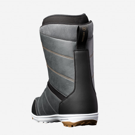NDK Tracer boots, black color, rear 3/4 view