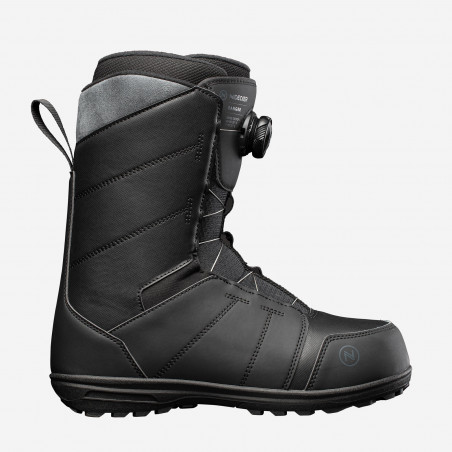 NDK Tracer boots, brown color, side view