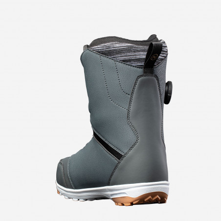 NDK Triton boots, blue color, above view