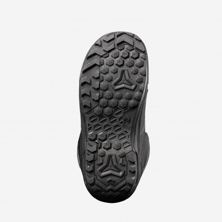 NDK Trinity boots, black color, 3/4 view