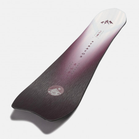 NDK Prime binding, white color, rear 3/4 view