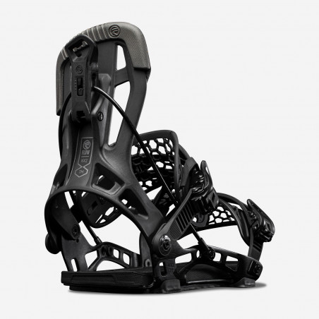 NDK Kaon-W binding, black color, rear 3/4 view