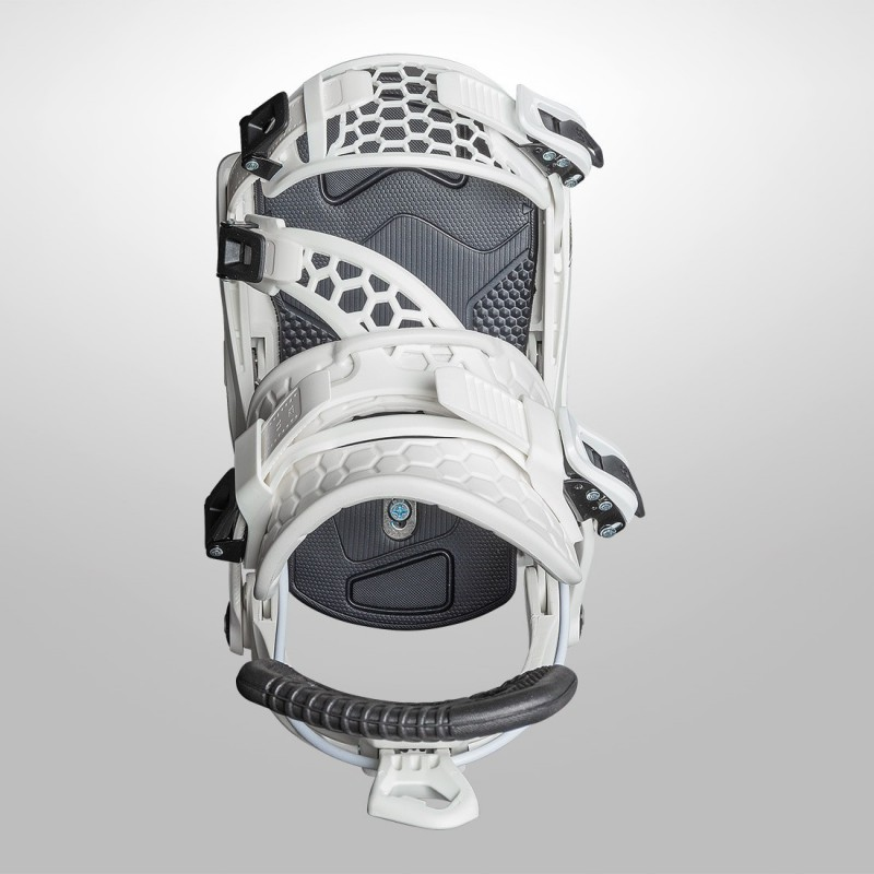 NDK CARBON binding, black color, 3/4 view