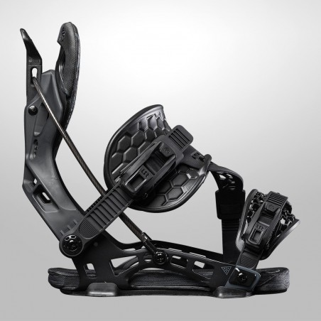 NDK CARBON binding, black color, side view